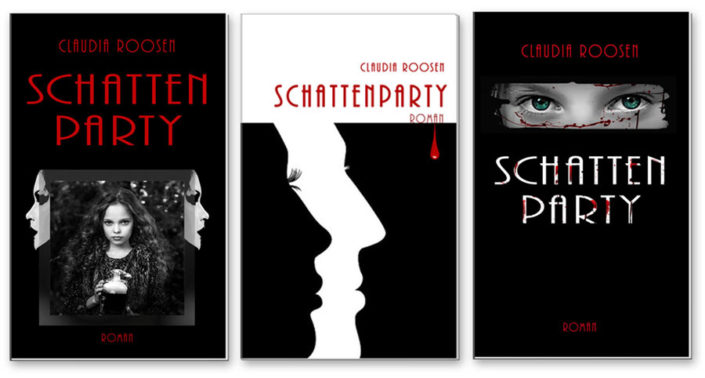 Schattenparty - Buchcover-Layouts