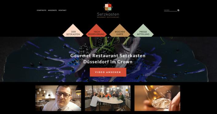 Gourmet Restaurant Setzkasten in Düsseldorf