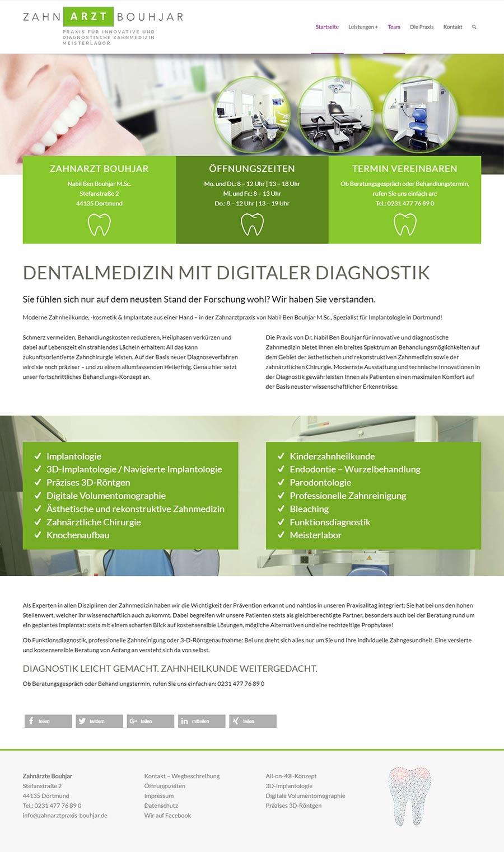 Zahnarztpraxis von Nabil Ben Bouhjar